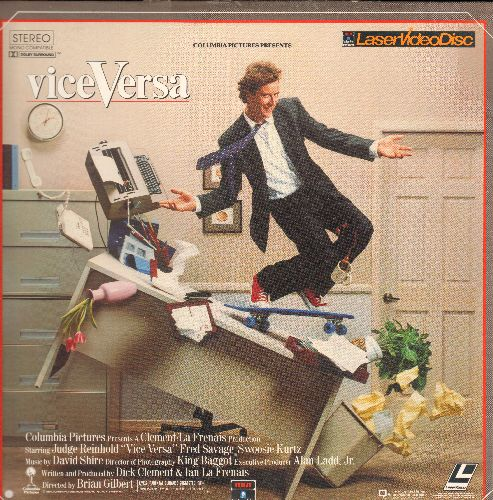 Vice Versa - Vice Versa - LASER DISC version of the Classic Fantasy-Comedy (This is a LASER DISC, not any other kind of media!) - NM9/VG7 - Laser Discs