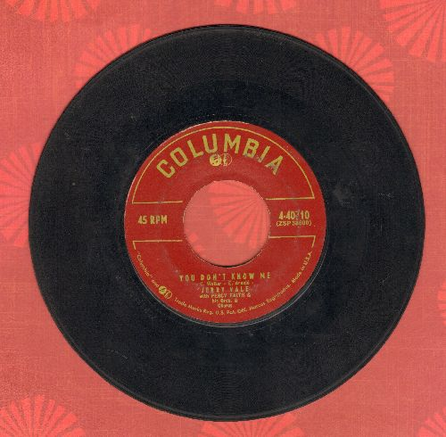 Vale, Jerry - You Don't Know Me/Enchanted - VG6/ - 45 rpm Records