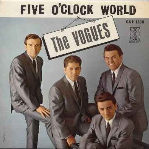 Vogues - Five O'Clock World: Goodnight My Love, Let's Hang On, One More Sunrise, Humpty Dumpty, A Thousand Miles Away (vinyl MONO LP record) - EX8/VG7 - LP Records