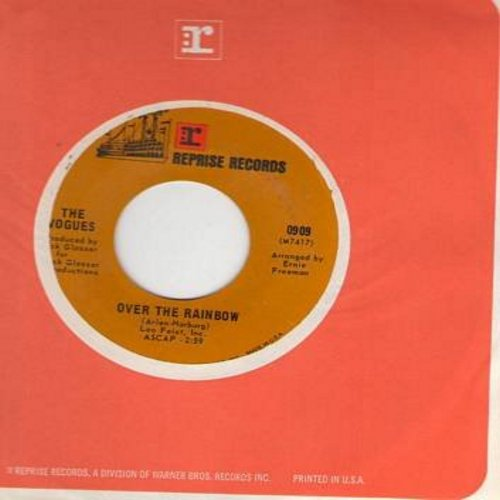 Vogues - Over The Rainbow (from film -Wizard of Oz-/Hey, That's No Way To Say Goodbye (with Reprise company sleeve) - NM9/ - 45 rpm Records