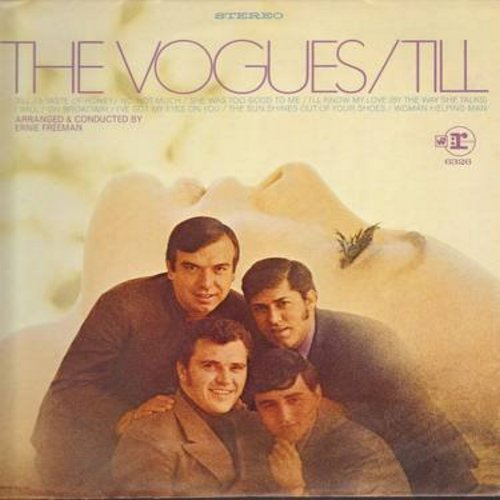 Vogues - Till: A Taste Of Honey, On Broadway, I've Got My Eyes On You, I'll Know My Love (By The Way She Talks) (vinyl LP record) - EX8/EX8 - LP Records