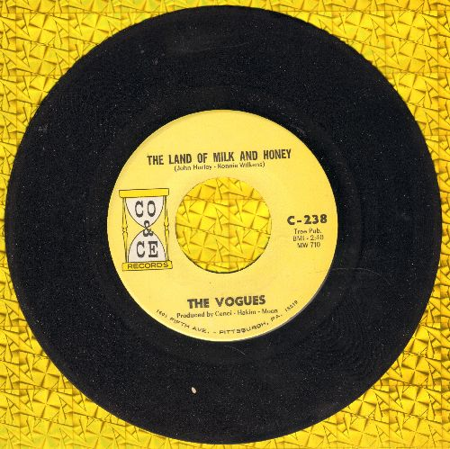 Vogues - The Land Of Milk And Honey/True Lovers - NM9/ - 45 rpm Records