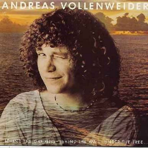 Vollenweider, Andreas - Behind The Gardens - Behind The Wall - Behind The Tree: Pyramid-In The Wood-In The Bright, Micro-Macro, Moonlight Wrapped Around Us, Sunday, Hands And Clouds (vinyl STEREO LP record) - M10/EX8 - LP Records