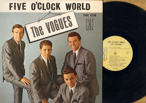 Vogues - Five O'Clock World: Goodnight My Love, Let's Hang On, One More Sunrise, Humpty Dumpty, A Thousand Miles Away (vinyl MONO LP record) - NM9/NM9 - LP Records