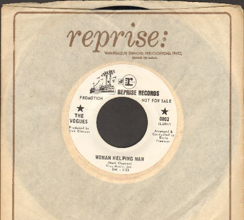 Vogues - Woman Helping Man/No, Not Much (DJ advance pressing with Reprise company sleeve) - NM9/ - 45 rpm Records