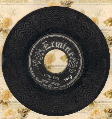 Cooper, Johnny - Little Bride (I'm Glad You're Mine)/Dumb Dumb Bunny (DREAMY 50's TEEN SOUND!) - VG7/ - 45 rpm Records