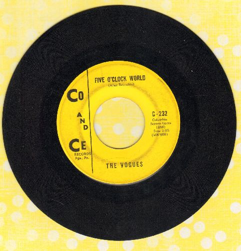 Vogues - Five O'Clock World (as featured on -The Drew Carey Show- in 2nd Season Theme)/Nothing To Offer You (bb) - EX8/ - 45 rpm Records
