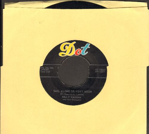 Vaughn, Billy & His Orchestra - Sail Along Silvery Moon/Raunchy - EX8/ - 45 rpm Records