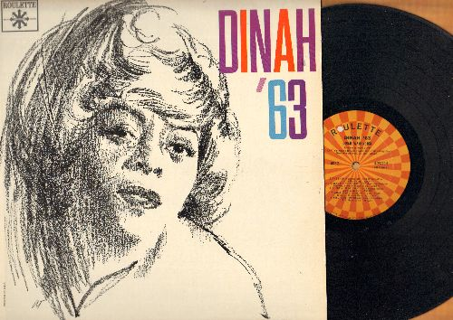 Washington, Dinah - Dinah '63: Make Someone Happy, Rags To Riches, What Kind Of Fool Am I, Bill, Take Me In Your Arms, Why Was I Born (vinyl MONO LP record) - EX8/EX8 - LP Records