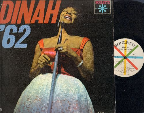 Washington, Dinah - Dinah '62: Is You Is Or Is You Ain't My Baby, Red Sails In The Sunset, You're Nobody 'Til Somebody Loves You, Coquette (vinyl MONO LP record) - NM9/EX8 - LP Records