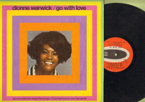 Warwick, Dionne - Go With Love: Walk On By, What The World Needs Now Is Love, They Long To Be Close To You, Don't Go Breaking My Heart (vinyl STEREO LP record) - NM9/EX8 - LP Records