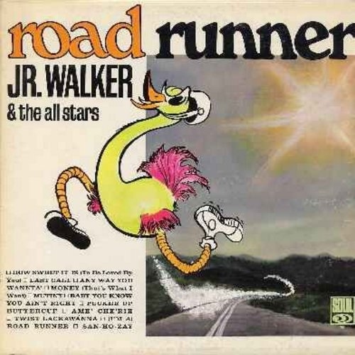 Walker, Jr. & The All Stars - Road Runner: How Sweet It Is (To Be Loved By You), Money (That's What I Want), Pucker Up Buttercup, (I'm A) Road Runner (vinyl MONO LP record) - EX8/VG7 - LP Records