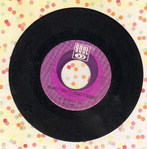 Walker, Jr. & The All Stars - Money (That's What I Want)(bb) - VG7/ - 45 rpm Records