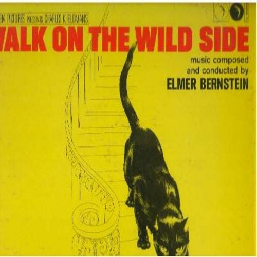 Bernstein, Elmer - Walk On The Wild Side - Original Motion Picture Sound Track (vinyl STEREO LP record) - EX8/VG6 - LP Records