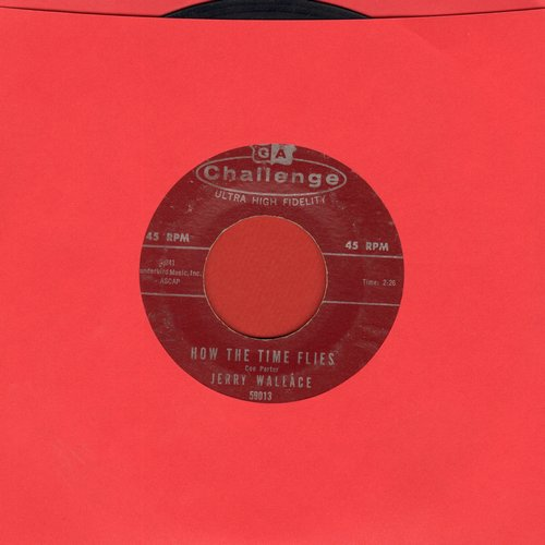 Wallace, Jerry - How The Time Flies/With This Ring - EX8/ - 45 rpm Records
