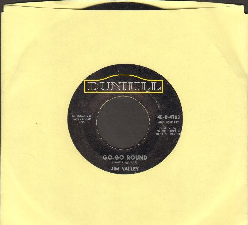 Valley, Jim - Go-Go Round/Maintain - VG7/ - 45 rpm Records
