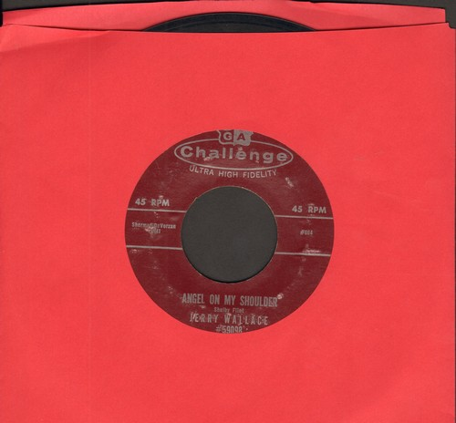 Wallace, Jerry - Angel On My Shoulder/There She Goes  - VG6/ - 45 rpm Records