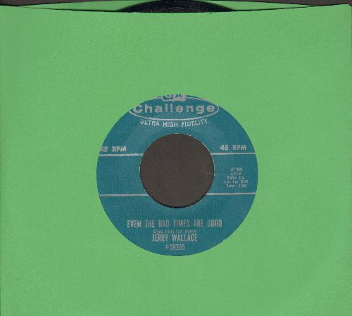 Wallace, Jerry - Spanish Guitars/Even The Bad Times Are Good - EX8/ - 45 rpm Records