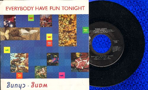 Wang Chung - Everybody Have Fun Tonight/Fun Tonight - The Early Years (with picture sleeve) - EX8/VG7 - 45 rpm Records
