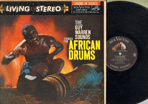 Warren, Guy Sounds - Themes For African Drums - RARE 1959 first pressing in Living Stereo (vinyl STEREO LP record) - EX8/EX8 - LP Records