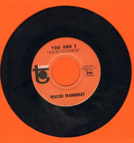 Wanderley, Walter - You And I/What Do You Know About Me - NM9/ - 45 rpm Records