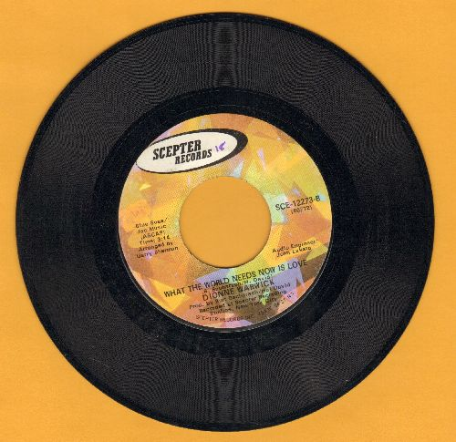Warwick, Dionne - I'll Never Fall In Love Again/What The World Needs Now Is Love  - EX8/ - 45 rpm Records