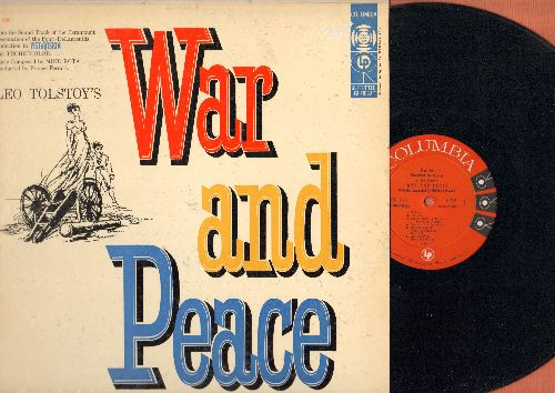 War And Peace - War And Peace - Original Motion Picture Soundtrack, Music by Nino Rota with Orchestra condicted by Franco Ferrara (vinyl MONO LP record, 1956 first pressing) - NM9/EX8 - LP Records