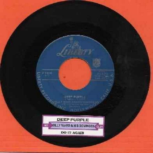 Ward, Billy & His Dominoes - Deep Purple/Do It Again (with juke box label) - VG7/ - 45 rpm Records