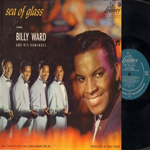 Ward, Billy & His Dominoes - Sea Of Glass: Joshua, Deep River, Swing Low Sweet Chariot, Were You There?, Above Jacob's Ladder (vinyl MONO LP record) - NM9/NM9 - LP Records