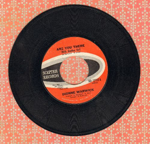 Warwick, Dionne - Are You There (With Another Girl)/If I Ever Make You Cry (bb) - VG7/ - 45 rpm Records