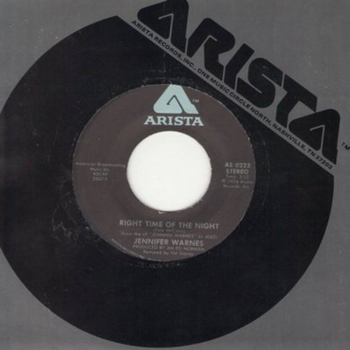 Warnes, Jennifer - Right Time Of The Night/Daddy Don't Go - NM9/ - 45 rpm Records