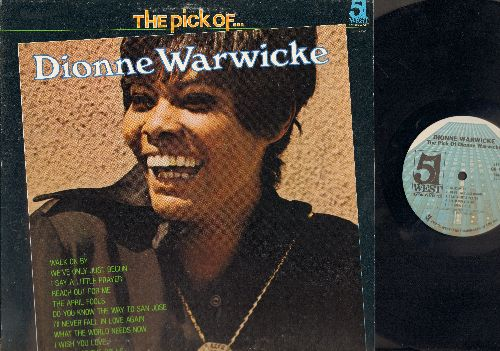 Warwick, Dionne - The Pick Of…: Walk On By, I Say A Little Prayer, Do You Know The Way To San Joese, I'll Never Fall In Love Again (vinyl STEREO LP record) - NM9/EX8 - LP Records