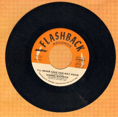 Warwick, Dionne - I'll Never Fall In Love Again/déjà vu (double-hit re-issue) - NM9/ - 45 rpm Records