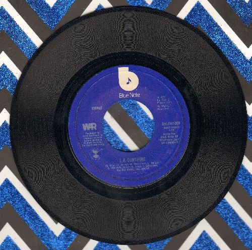 WAR - L.A. SunshineSlowly We Walk Together - NM9/ - 45 rpm Records
