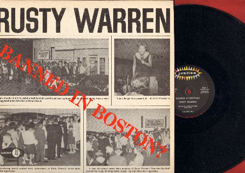 Warren, Rusty - Banned In Boston? - LIVE comedy routines for Adults Only (vinyl MONO LP record) - EX8/EX8 - LP Records