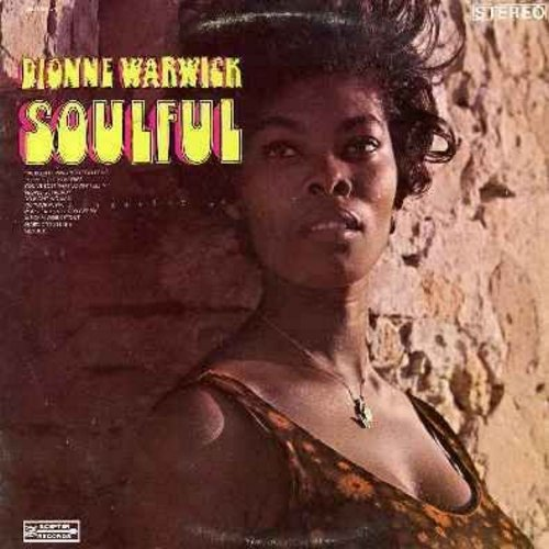 Warwick, Dionne - Soulful: People Got To Be Free, I'm Your Puppet, Hard Day's Night, We Can Work It Out, People Get Ready, Hey Jude (vinyl STEREO LP record) - VG7/EX8 - LP Records