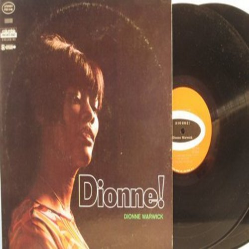 Warwick, Dionne - Dionne! (2 vinyl LP record set - Exclusive Columbia Record Club issue): Anyone Who Had A Heart, Don't Make Me Over, Wishin' And Hopin', Zip-A-Dee-Doo-Dah, Make It Easy On Yourself (International customers add $3.00 EXTRA for Air Mal ship