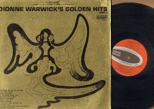 Warwick, Dionne - Dionne Warwick's Golden Hits Part 2: What The World Needs Now Is Love, Do You Know The Way To San Jose, I Say A Little Prayer, Unchained Melody (vinyl STEREO LP record, gate-fold cover) - EX8/VG7 - LP Records