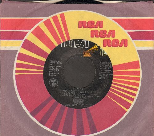 WAR - You Got The Power/Cinco De Mayo (with RCA company sleeve) - NM9/ - 45 rpm Records