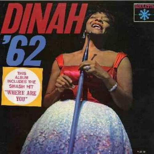 Washington, Dinah - Dinah '62: Is You Is Or Is You Ain't My Baby, Red Sails In The Sunset, You're Nobody 'Til Somebody Loves You, Coquette (vinyl LP record) - NM9/NM9 - LP Records