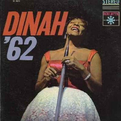Washington, Dinah - Dinah '62: Is You Is Or Is You Ain't My Baby, Red Sails In The Sunset, You're Nobody 'Til Somebody Loves You, Coquette (vinyl STEREO LP record) - EX8/VG7 - LP Records