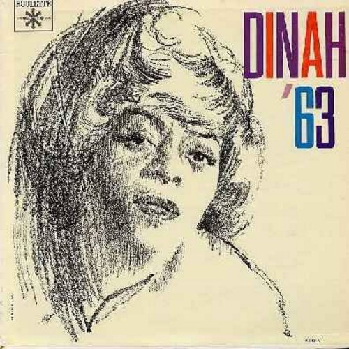 Washington, Dinah - Dinah '63: Make Someone Happy, Rags To Riches, What Kind Of Fool Am I, Bill, Take Me In Your Arms, Why Was I Born (vinyl MONO LP record) - NM9/NM9 - LP Records