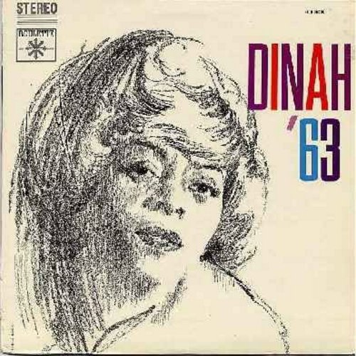 Washington, Dinah - Dinah '63: Make Someone Happy, Rags To Riches, What Kind Of Fool Am I, Bill, Take Me In Your Arms, Why Was I Born (vinyl STEREO LP record) - M10/EX8 - LP Records
