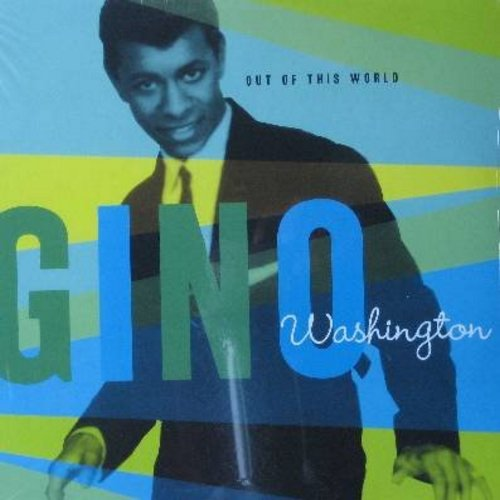 Washington, Gino with Nathaniel Mayer, Pearl Jones and The Tomangoes - Love Bandit: 'Til The End Of Time, Rat Race, Doing The Popcorn, Singing In The Rain, Puppet On A String, Foxy Walk (vinyl LP record, re-issue of vintage recordings, SEALED, never opene