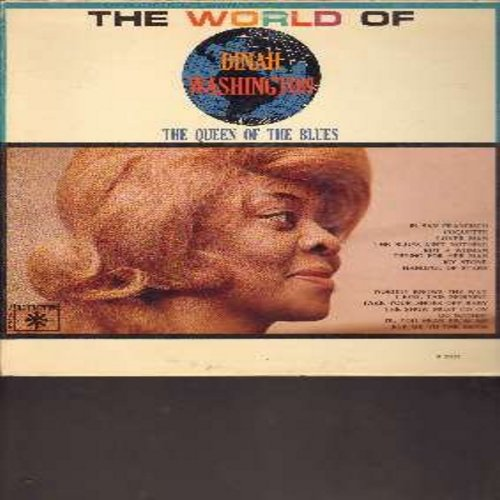 Washington, Dinah - The World Of Dinah Washington - The Queen Of The Blues: Lover Man, The Show Must Go On, Fly Me To The Moon, In San Francisco (vinyl LP record) - NM9/VG7 - LP Records