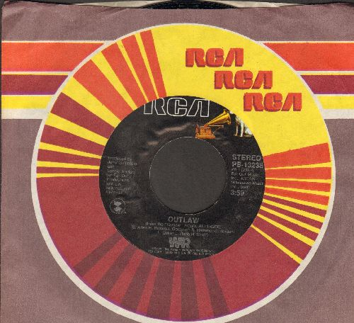 WAR - Outlaw/I'm About Somebody (with RCA company sleeve) - NM9/ - 45 rpm Records