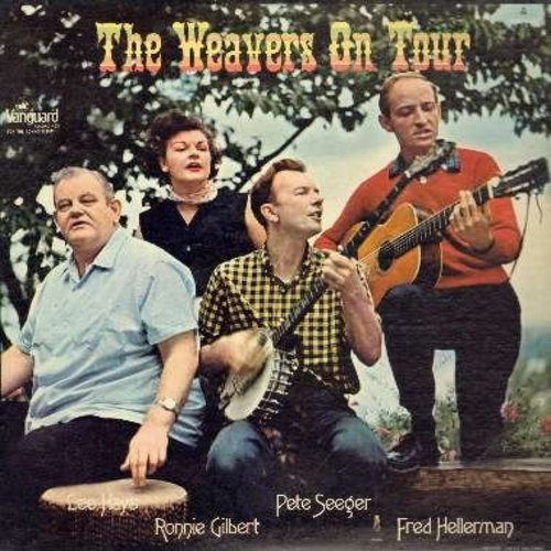 Weavers - The Weavers On Tour: Clmentine, The Boll Weevil, The Wreck Of The John B, Santa Claus Is Coming (It's Almost Day), Go Tell It On The Mountain (vinyl STEREO LP record) - NM9/EX8 - LP Records