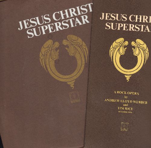 Webber, Andrew Lloyd - Jesus Christ Superstar - A Rock Opera (2 vinyl STEREO LP records, gate-fold cover, with BONUS lyrics booklet!) - NM9/EX8 - LP Records