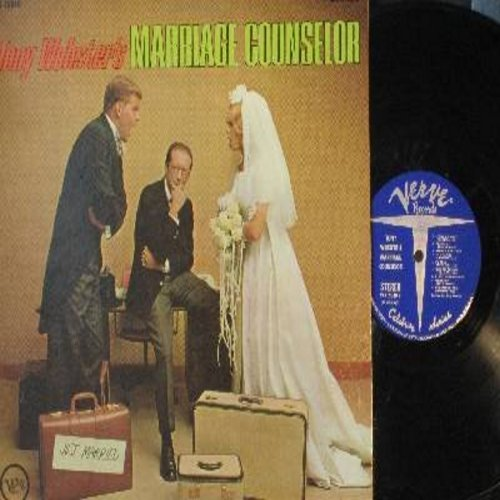 Webster, Tony - Marriage Counselor - Classic Comedy album starring George Coe, Lovelady Powell, Joan Darling, Peter Turgeon, Rex Robbins and Nancy Coe (vinyl STEREO LP record) - NM9/EX8 - LP Records