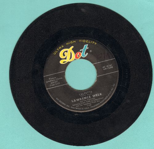 Welk, Lawrence - Calcutta/My Grandfather's Clock (Overlooked VERY NICE sentimental song with vocals by Larry Hooper) - EX8/ - 45 rpm Records